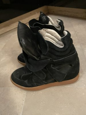 Isabel Marant High Top Sneaker black