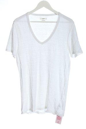 Isabel Marant V-Ausschnitt-Shirt weiß Casual-Look