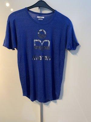 Isabel Marant Long Shirt blue linen