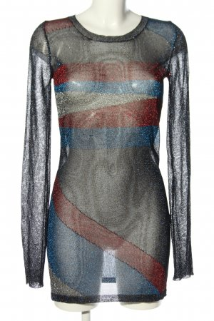 Isabel Marant Minikleid Streifenmuster extravaganter Stil