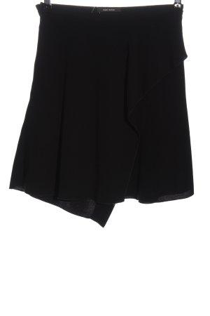 Isabel Marant Minifalda negro moteado look casual
