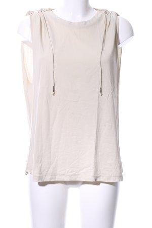 Isabel Marant Camisa de tirantes para hombres blanco puro look casual