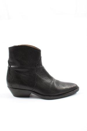 Isabel Marant Zipper Booties black elegant