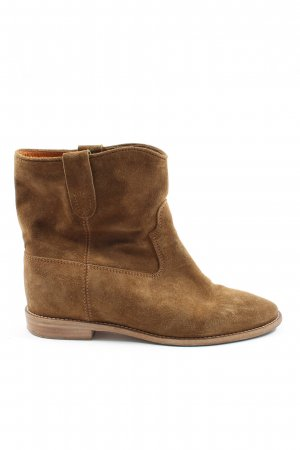 Isabel Marant Slip-on Booties brown casual look