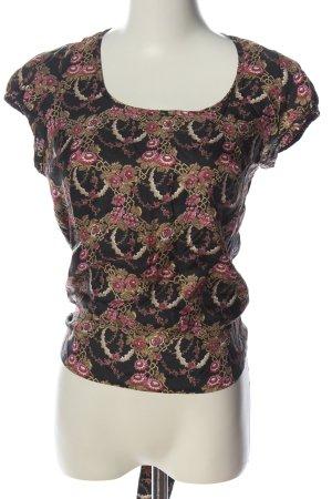 Isabel Marant Schlupf-Bluse abstraktes Muster Casual-Look