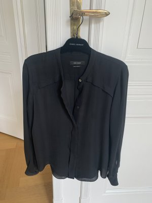 Isabel Marant Silk Blouse black