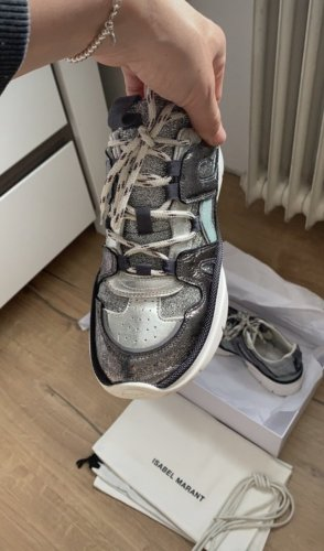Isabel Marant Lace-Up Sneaker multicolored