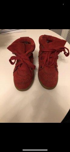 Isabel Marant Slip-on Sneakers bordeaux