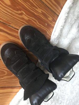 Isabel Marant Zapatillas con tacón negro