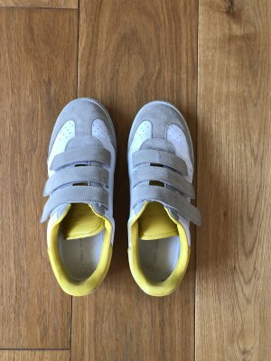 Isabel Marant Sneaker con strappi bianco-giallo