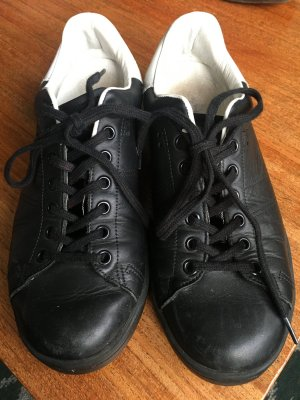 Isabel Marant Lace-Up Sneaker black-white leather