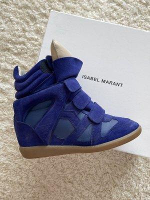 Isabel Marant Sneaker con zeppa multicolore