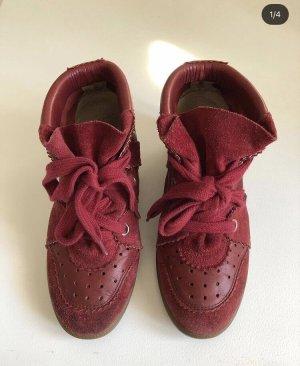 Isabel Marant Heel Sneakers multicolored