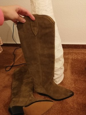 Isabel Marant Boots western taupe