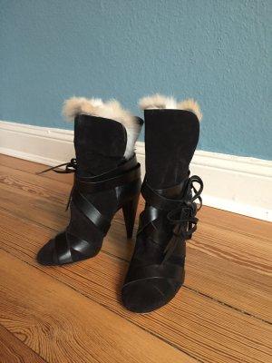 Isabel Marant Booties black leather