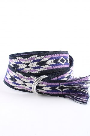 Isabel Marant Stoffen riem abstract patroon casual uitstraling