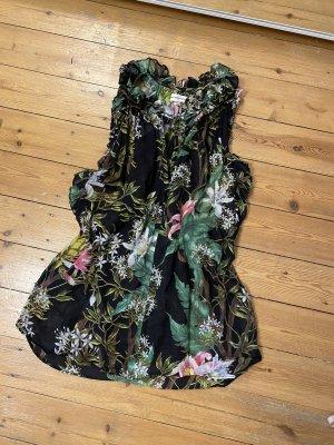 Isabel Marant Top Shirt Bluse Blumen Floral Mytheresa Volants Boho Rüschen Ibiza