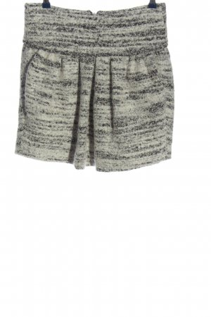 Isabel Marant Falda Tweed gris claro moteado look casual