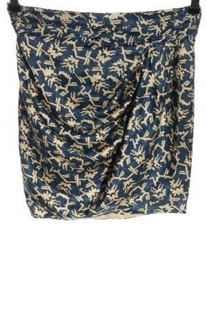 Isabel Marant Wickelrock abstraktes Muster Elegant