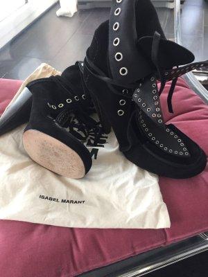 ISABEL MARANT Wildleder Boots / Heels Gr. 39