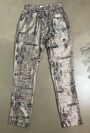 Isabel Marant pour H&M Pantalon chinos multicolore soie