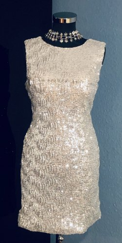 Isabel Party  Little Silver Dress