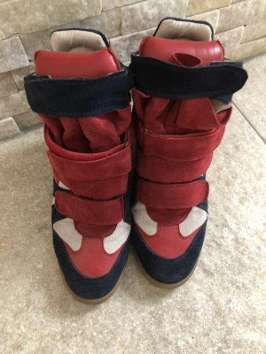 Isabell Marant Beckett high top sneaker