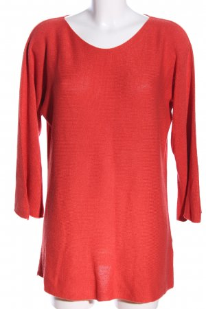 Isabella D. Strickpullover rot Casual-Look
