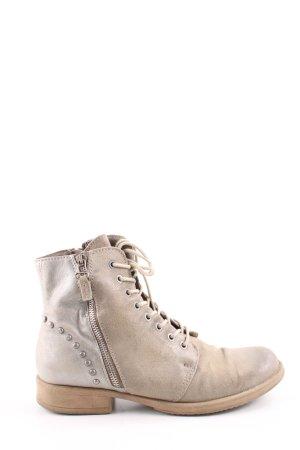 Isabelle F Stivale a gamba corta bianco sporco stile casual