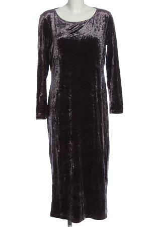 Ischiko Longsleeve Dress light grey wet-look