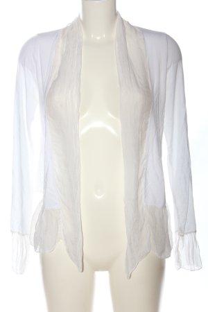 iSilk Veste chemisier blanc style décontracté