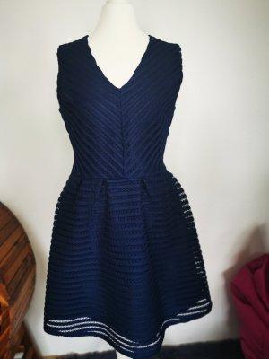 Iska abendkleid partykleid dunkelblau