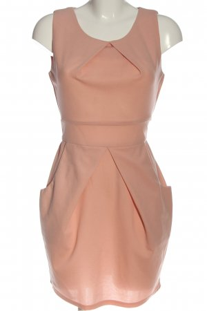 ISKA Minikleid pink Casual-Look