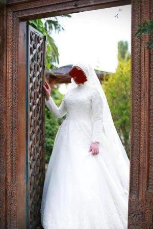 Islamisches Brautkleid
