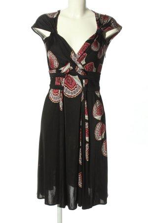 Issa London Jerseykleid abstraktes Muster Casual-Look