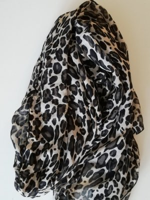 H&M Halsdoek camel-zwart Polyester