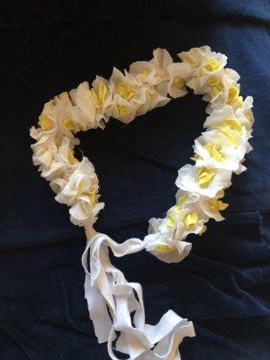Ribbon white-yellow