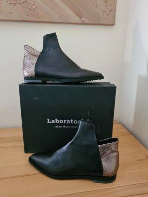 laboratorio Ankle Boots black-bronze-colored