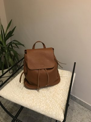 Genuine Leather Wandelrugzak cognac Leer