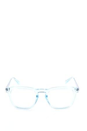 Italia independent Angular Shaped Sunglasses blue casual look