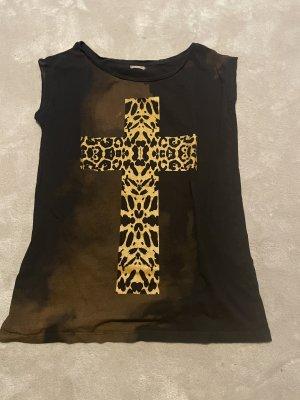 Calliope Shirt met print zwart