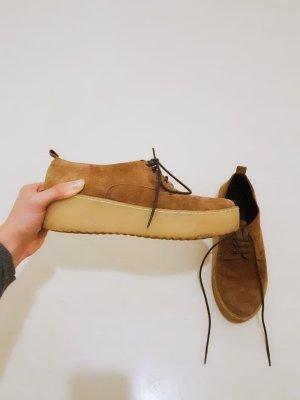 Italian Platform Flache Schuhe mit Schnur