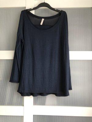 Italian Style Langarmshirt L blau
