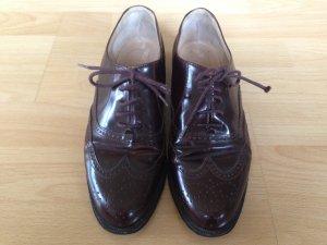 Italienische Budapester Schuhe in Gr 38,5 von JIL ROCCO