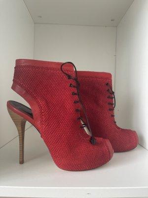 TUFFONI Sandale d'extérieur rouge