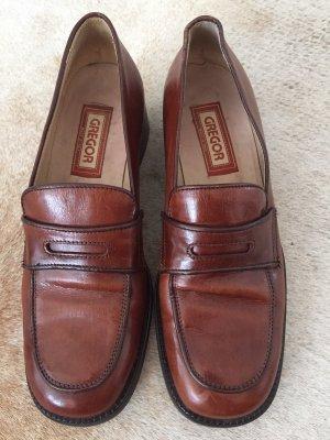 Italienische Leder Schuhe,Gr. 39.