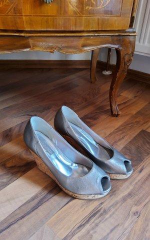 Italienische Leder Schuhe Größe 36