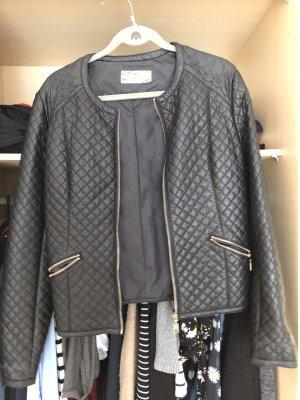0039 Italy Veste motard noir