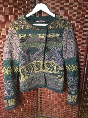 Tandem Giacca di lana multicolore Lana