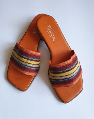 Bianca Di Mule à talon multicolore